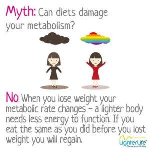 metabolism myth