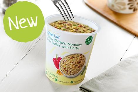 LighterLife FastPot Creamy Chicken Noodle FastPot Meal Replacement